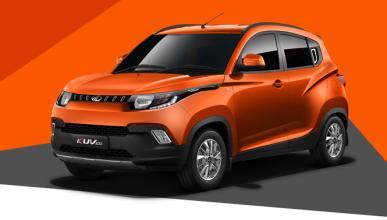 Mahindra KUV100, nuevo mini SUV para la India