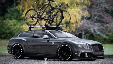 Así luciría el Bentley Continental con carrocería familiar