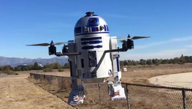 El primer dron R2D2 del mundo