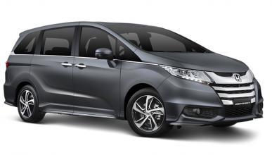 Honda Odyssey 2016, ya te hemos pillado