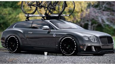 ¿Imaginas un Bentley Continental Shooting Brake?
