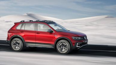 Volkswagen Tiguan GTE Active concept dinamica