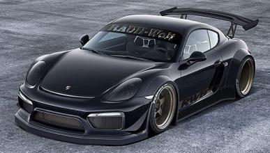 Porsche Cayman GT4 by RWB: ¿llegará?