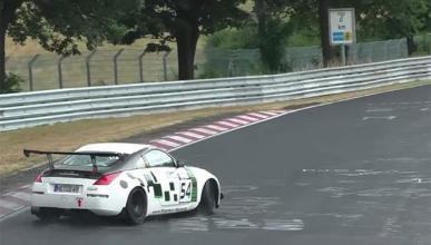 Vídeo: las mejores derrapadas con lluvia en Nürburgring