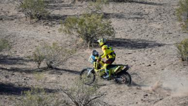 Dakar 2016: Motos. Etapa 10: Svitko gana y asegura el podio