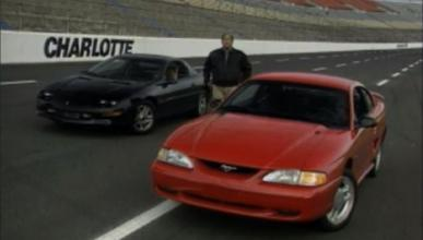 Viaje al pasado: prueba del Camaro y el Mustang de 1994