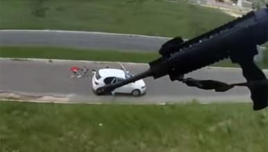 Así recupera la policía de Brasil los coches robados