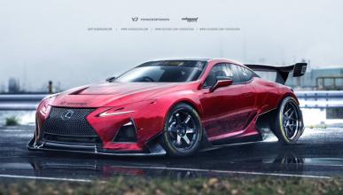 Estos Lexus LC 500 GT3 y Drift te harán soñar