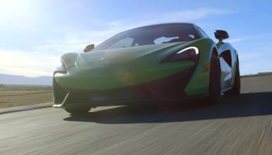 El McLaren 570S, a fondo en circuito y carretera