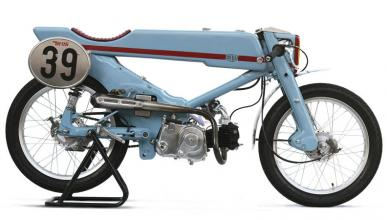 Un Honda Super Cub en manos de Deus ex Machina, buena idea