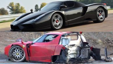 Un Ferrari Enzo restaurado, a subasta