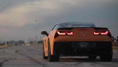 Así suenan los 1.000 CV del Corvette C7