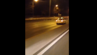 Vídeo: Taxista kamikaze causa el caos en Madrid