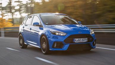 Ford Focus RS 2016 morro