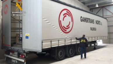 Recuperan un camión robado con baterías de Renault