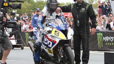Guy Martin se olvida del TT de la Isla de Man