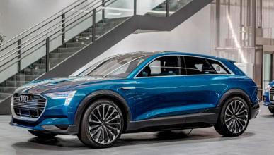 Audi se centra en los e-tron