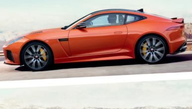 Jaguar F-Type SVR lateral
