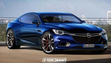 Así podría ser el nuevo Opel Calibra