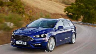Un Ford Fusion, recreado como un familiar