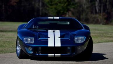 Ford GT de 'A todo gas' frontal