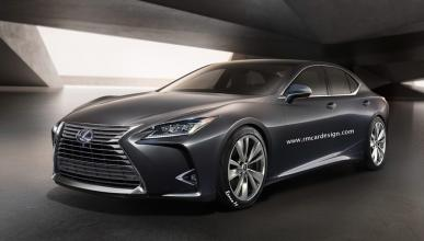 Nuevo Lexus LS: así será su interior