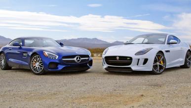 Mercedes-AMG GT o Jaguar F-Type R, ¿cuál será más rápido?