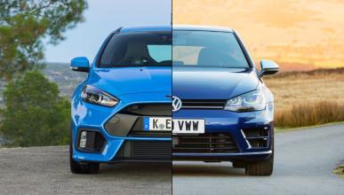 ¿Cuál es mejor, el Ford Focus RS o el Volkswagen Golf R?