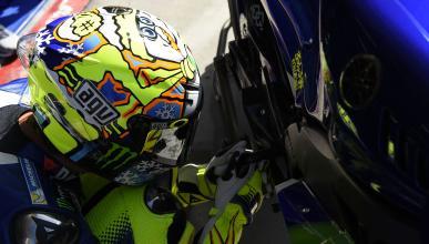 """Valentino Rossi: """"La moto ha mejorado mucho respecto ayer"""""""