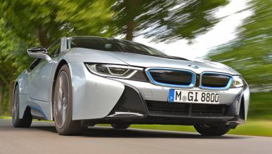 Las fotos que prueban que el BMW i8 es un coche muy seguro