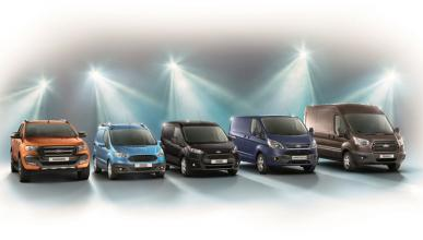 El Ford Transit, líder entre los comerciales