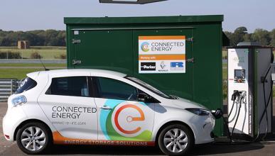 Renault colabora con Connected Energy en E-Stor