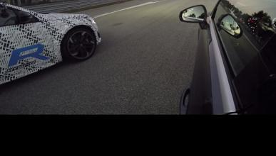 Peugeot 308 R Hybrid vs Audi RS3, ¡vaya duelo!
