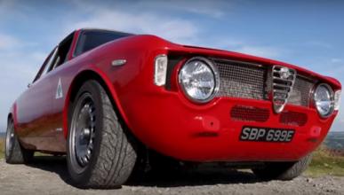 Vídeo: el Alfa Romeo Giulia Sprint se pone 'cachas'