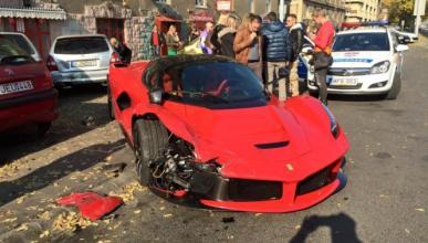 4.000 euros por el parachoques de un Ferrari LaFerrari