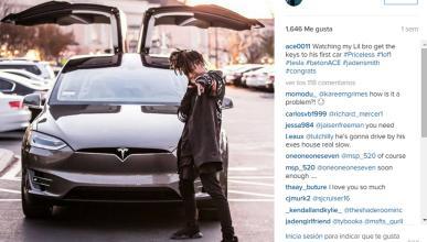 El hijo de Will Smith, de los primeros dueños del Model X