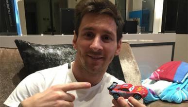 Messi niega la compra del Ferrari de 32 millones en RRSS