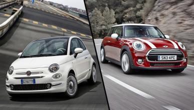 ¿Cuál es mejor, el Fiat 500 o el Mini?