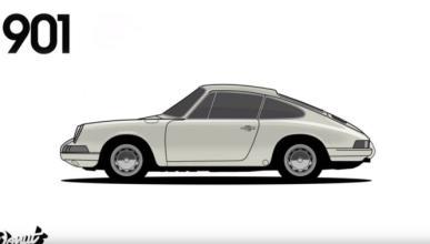 Vídeo: ¡cómo ha pasado el tiempo para el Porsche 911!