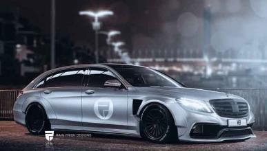 Mercedes Clase S Estate: ¿llegará a ser así?