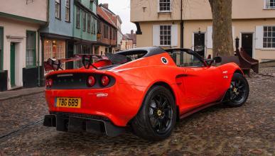 Lotus Elise Cup 250 trasera