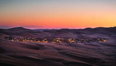 Qasr Al Sarab Desert Hotel Resort Star Wars
