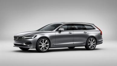 Volvo V90 2017 tres cuartos delanteros
