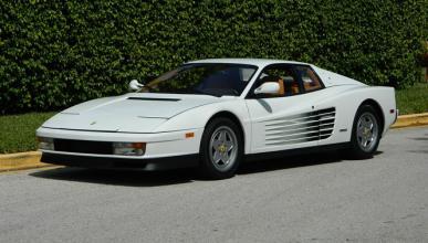 El Ferrari Testarossa de 'El lobo de Wall Street', en venta