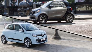 ¿Cuál es mejor, el Smart ForTwo o el Renault Twingo?