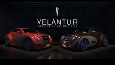 Velantur Concept, el primer deportivo de lujo made in Spain