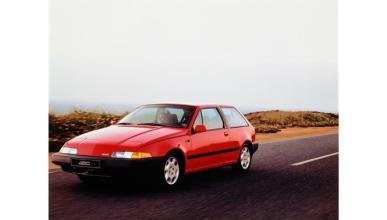 Volvo 480 ES: tres cuartos delanteros