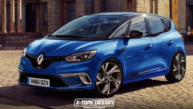 Así podría ser el nuevo Renault Scénic GT