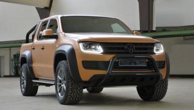 VW Amarok V8 Passion Desert Edition by MTM tres cuartos delanteros