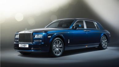 Rolls-Royce Phantom 2018, cazada también la versión larga